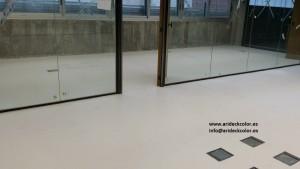 Pavimentos continuos de resina epoxi